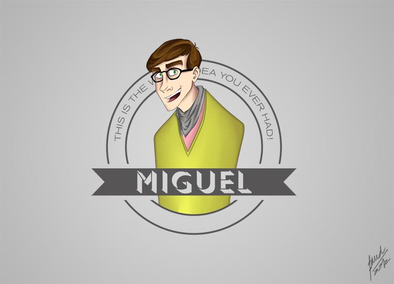 Miguel by Niza-Niabock